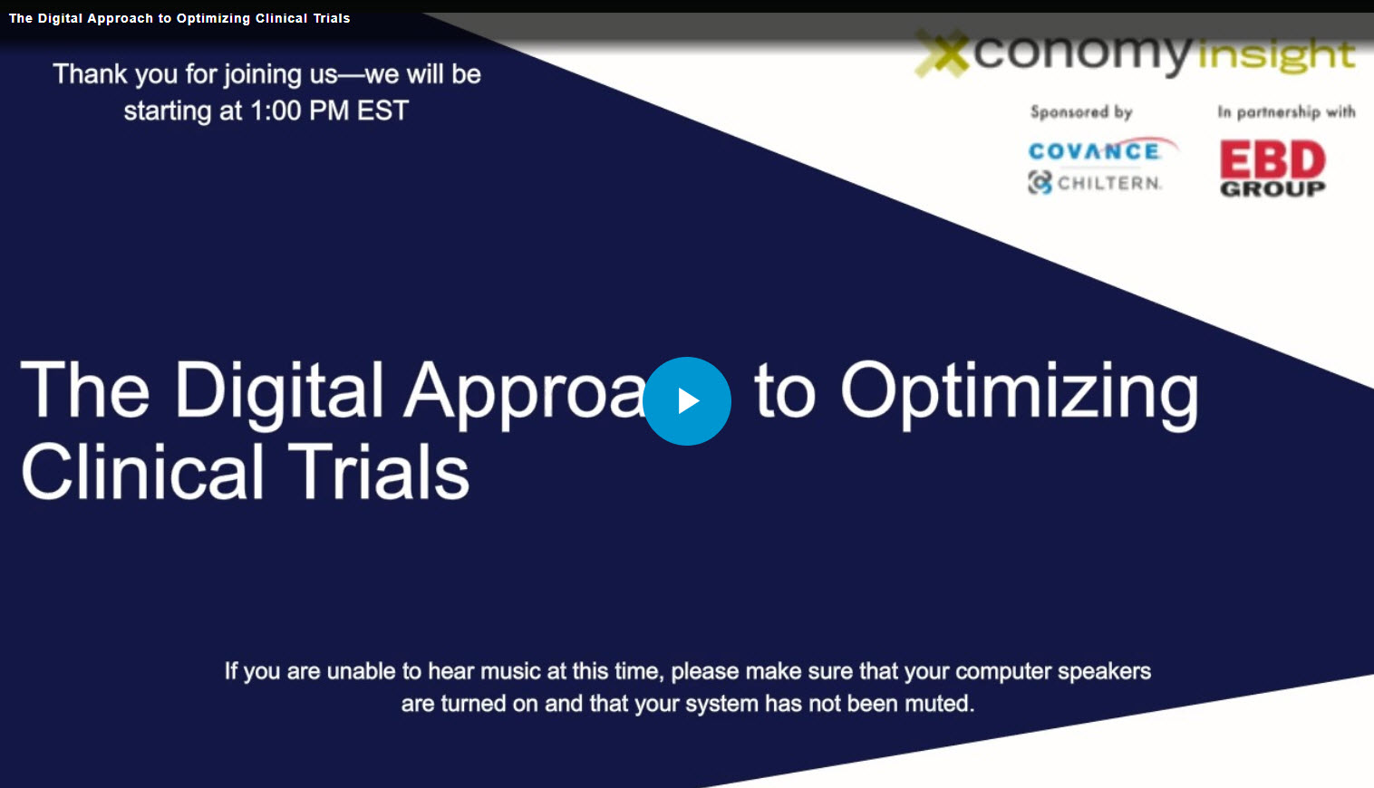 The Digital Approach to Optimizing Clinical Trials
